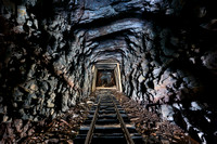 Wrays Hill Tunnel, East Broad Top Railroad, PA